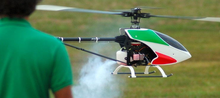 Gas Powered RC Helicopter