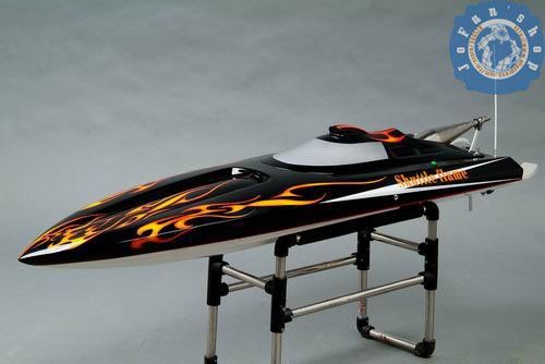 gas powered rc boats