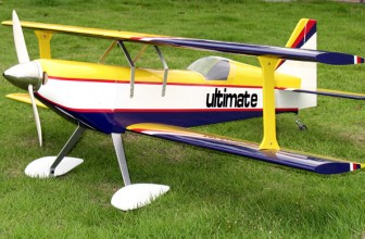 Big, Eye Catching Gas Powered RC Planes